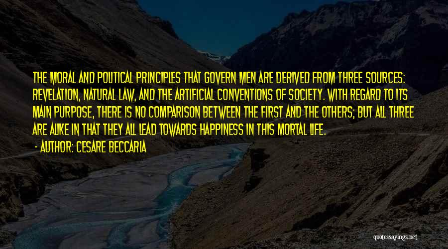 Sources Of Law Quotes By Cesare Beccaria