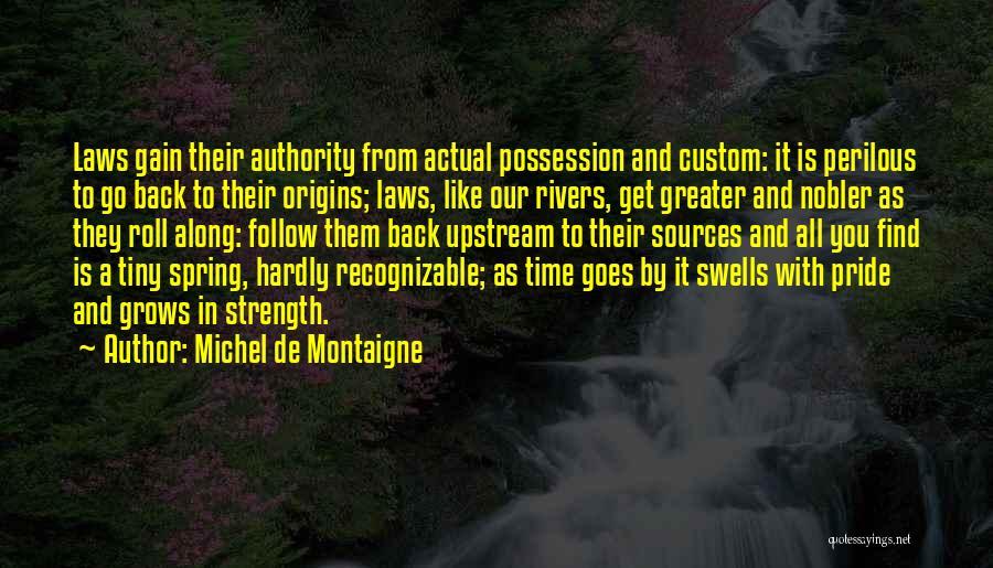 Sources Of Law Quotes By Michel De Montaigne