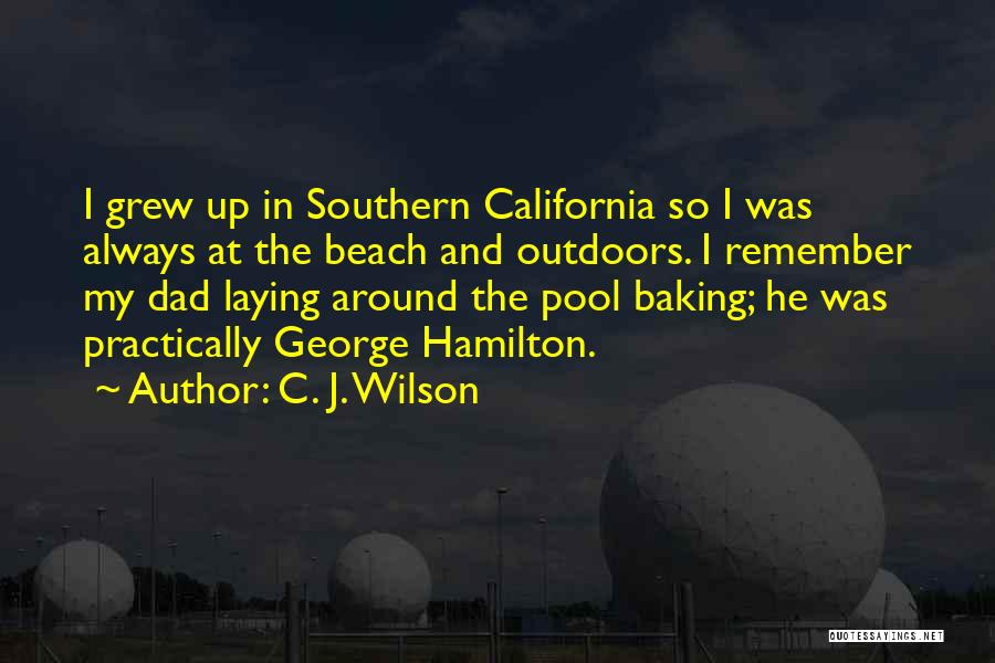 Southern California Beach Quotes By C. J. Wilson