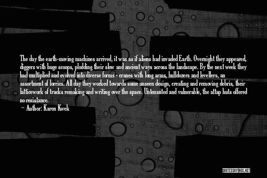 Space And Design Quotes By Karen Kwek