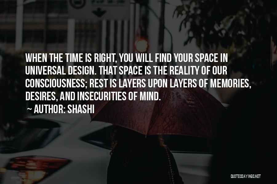 Space And Design Quotes By Shashi