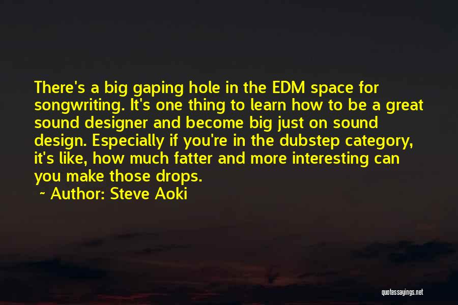 Space And Design Quotes By Steve Aoki