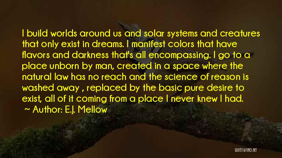 Space And Science Quotes By E.J. Mellow