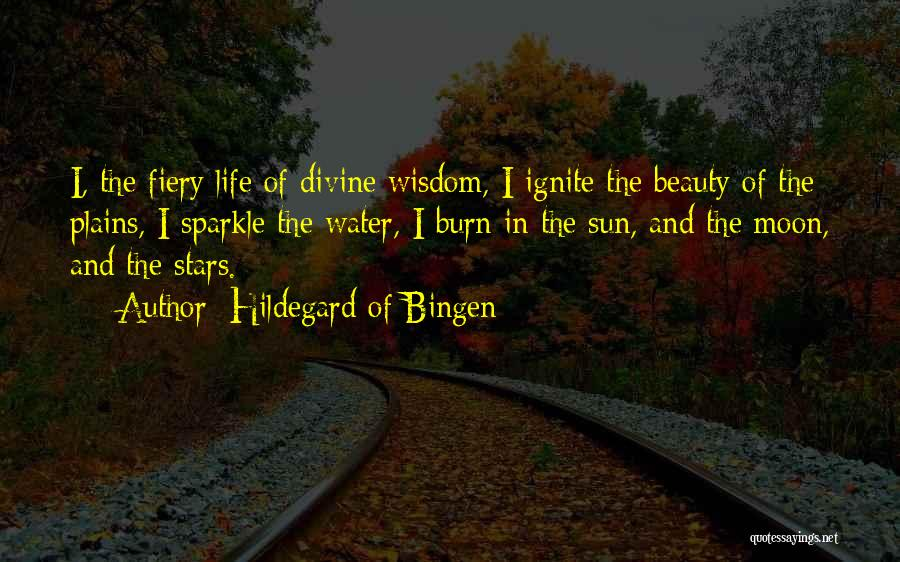 Sparkle In Your Life Quotes By Hildegard Of Bingen