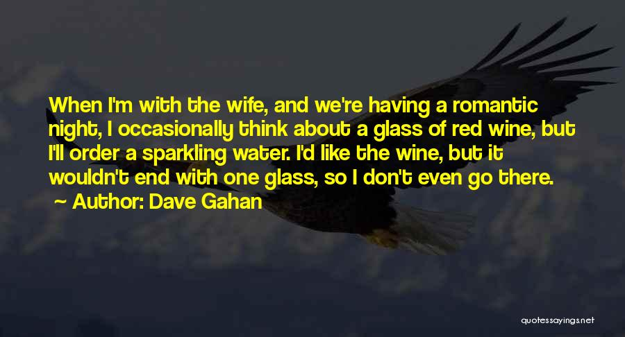 Sparkling Night Quotes By Dave Gahan