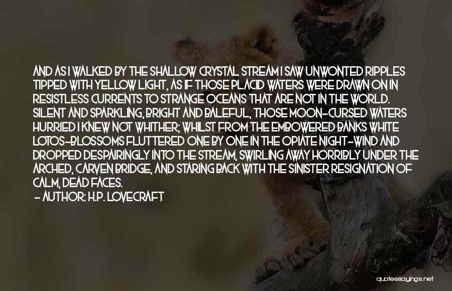 Sparkling Night Quotes By H.P. Lovecraft