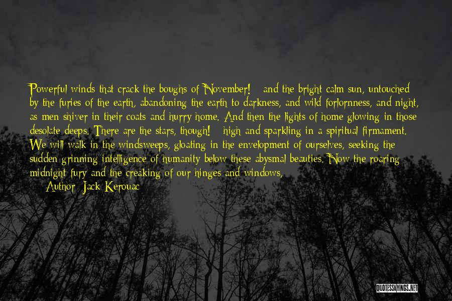 Sparkling Night Quotes By Jack Kerouac