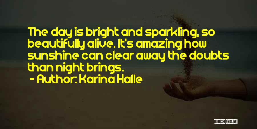 Sparkling Night Quotes By Karina Halle