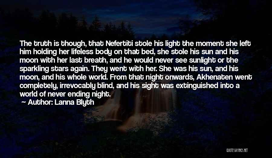 Sparkling Night Quotes By Lanna Blyth