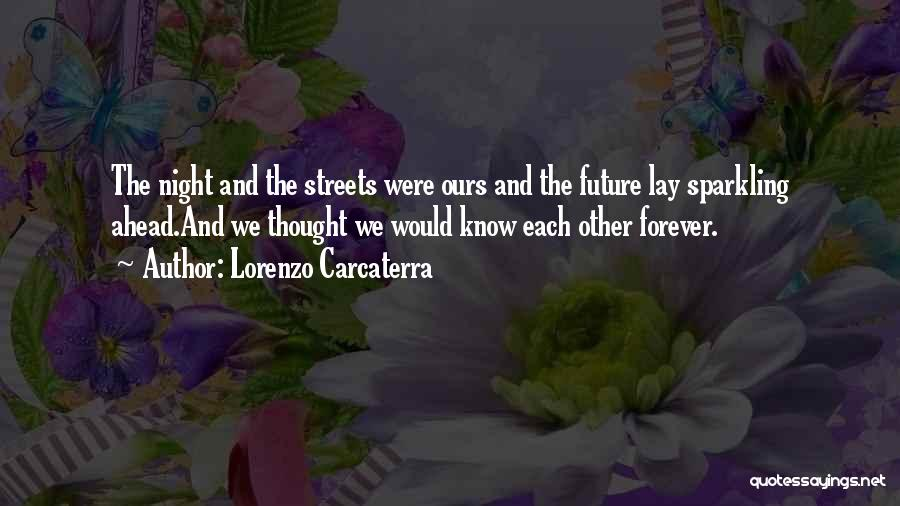 Sparkling Night Quotes By Lorenzo Carcaterra