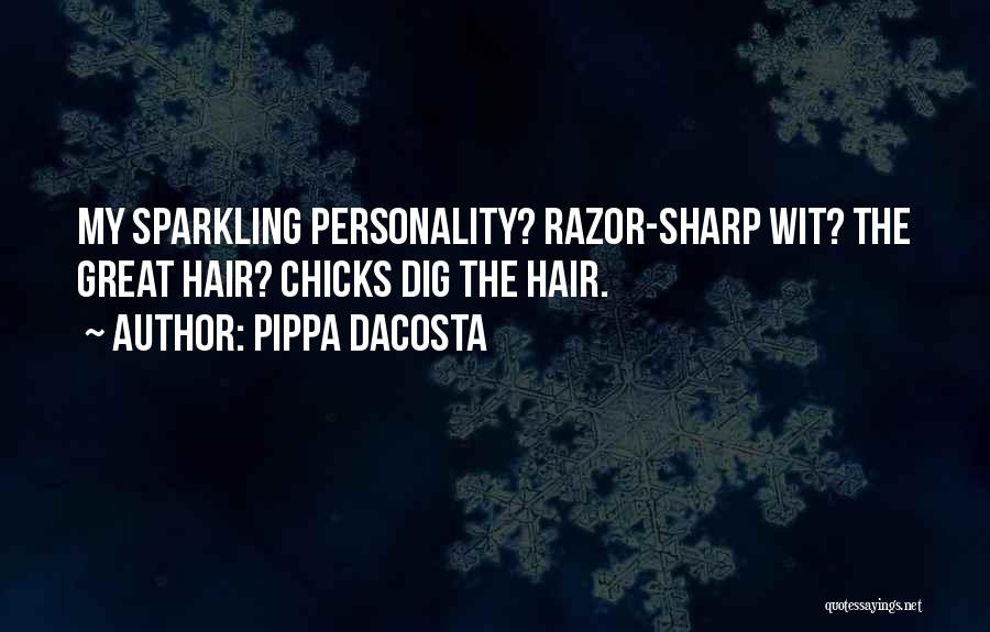 Sparkling Personality Quotes By Pippa DaCosta