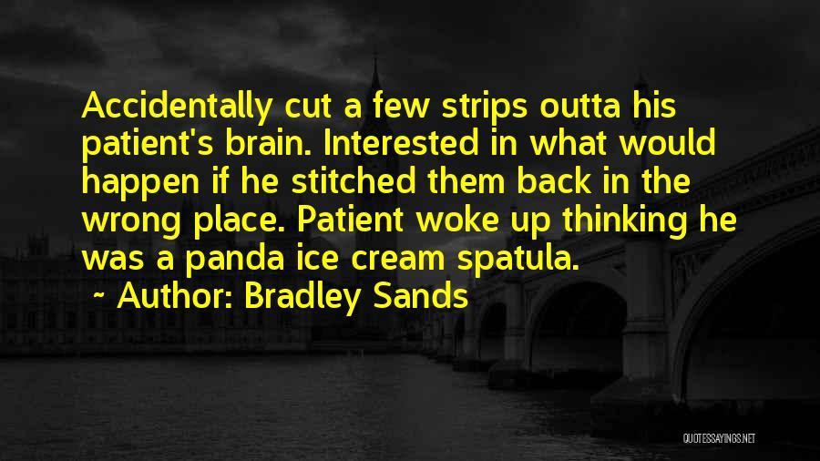 Spatula Quotes By Bradley Sands