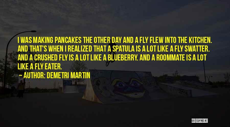 Spatula Quotes By Demetri Martin