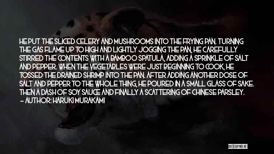 Spatula Quotes By Haruki Murakami