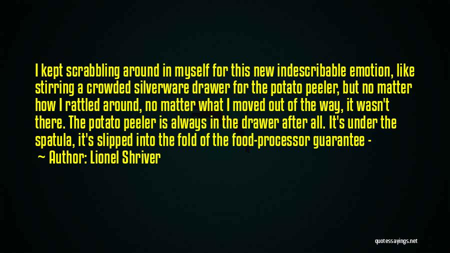 Spatula Quotes By Lionel Shriver