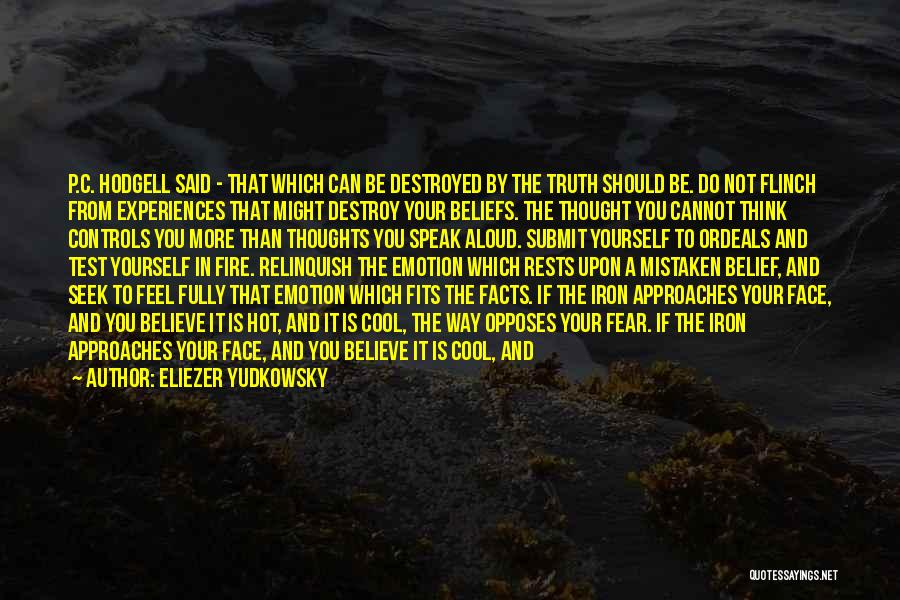 Speak The Truth Quotes By Eliezer Yudkowsky