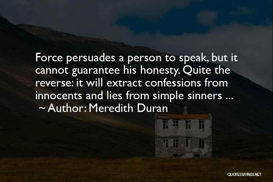Speak The Truth Quotes By Meredith Duran