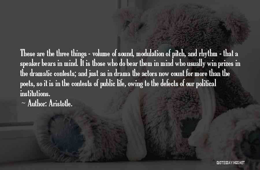 Speaking Up Your Mind Quotes By Aristotle.