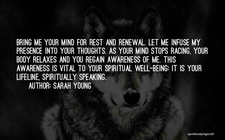 Speaking Up Your Mind Quotes By Sarah Young