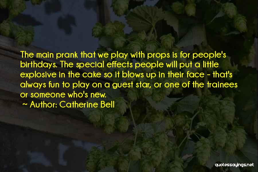 Special Guest Quotes By Catherine Bell