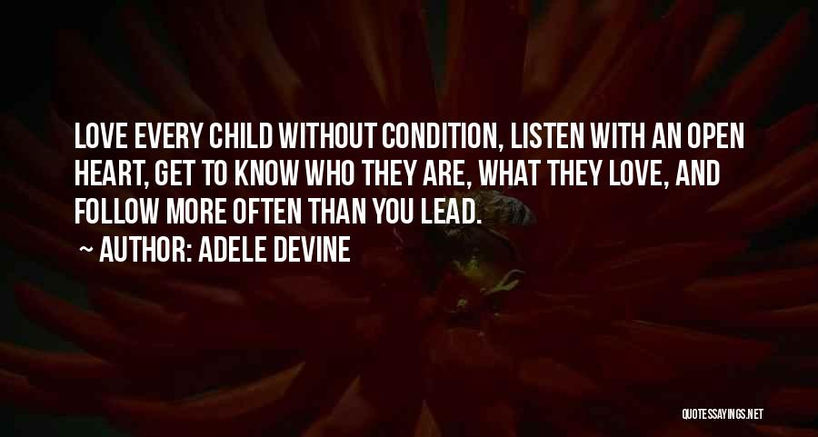 Special Needs Quotes By Adele Devine