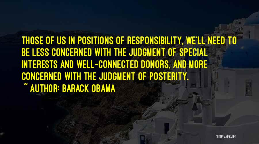 Special Needs Quotes By Barack Obama