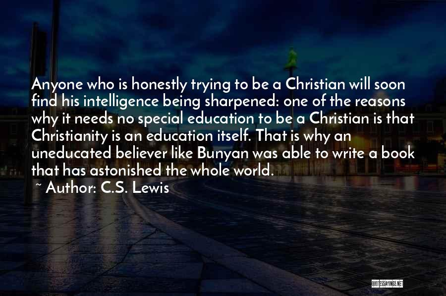 Special Needs Quotes By C.S. Lewis