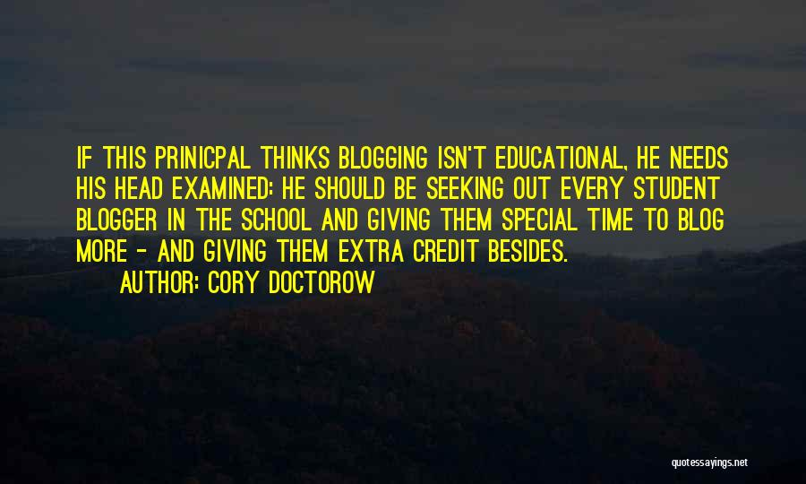 Special Needs Quotes By Cory Doctorow
