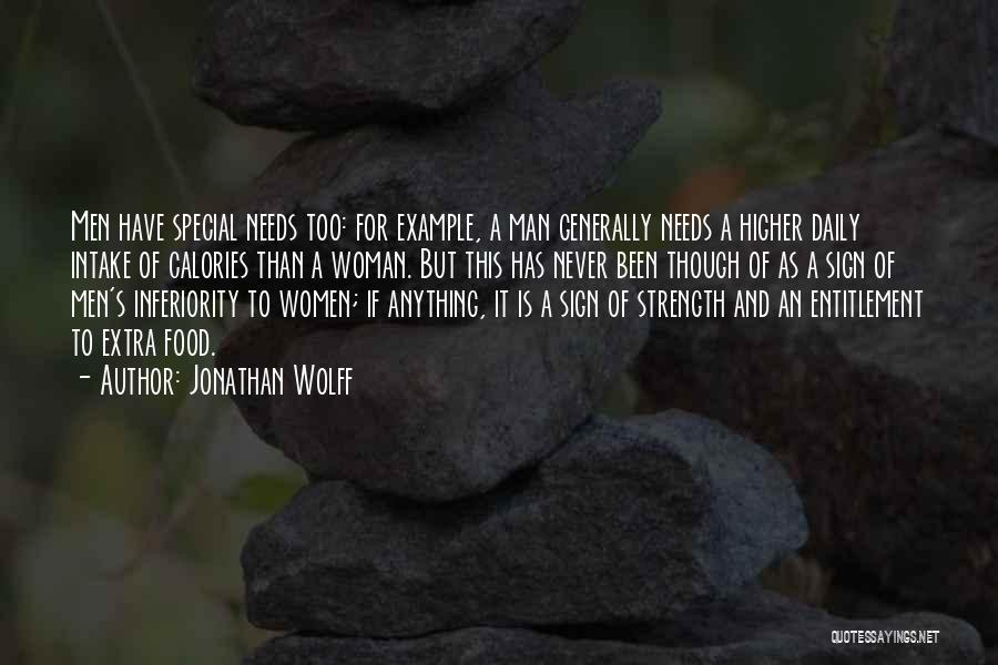 Special Needs Quotes By Jonathan Wolff