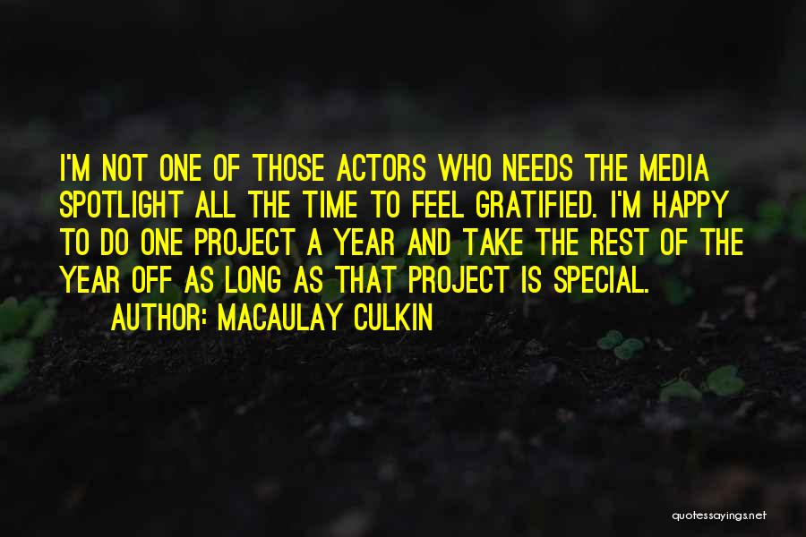 Special Needs Quotes By Macaulay Culkin