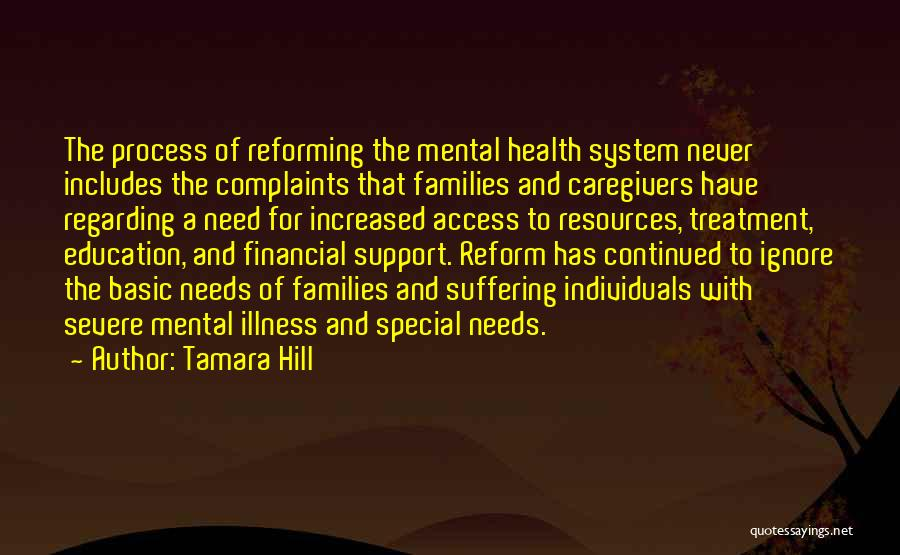 Special Needs Quotes By Tamara Hill
