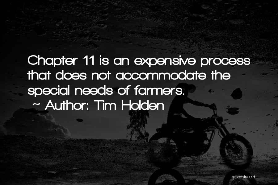 Special Needs Quotes By Tim Holden