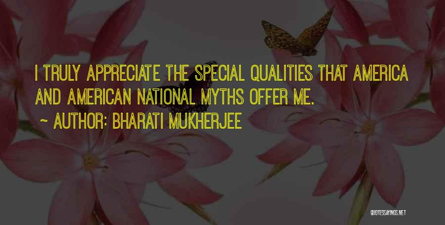 Special Offer Quotes By Bharati Mukherjee