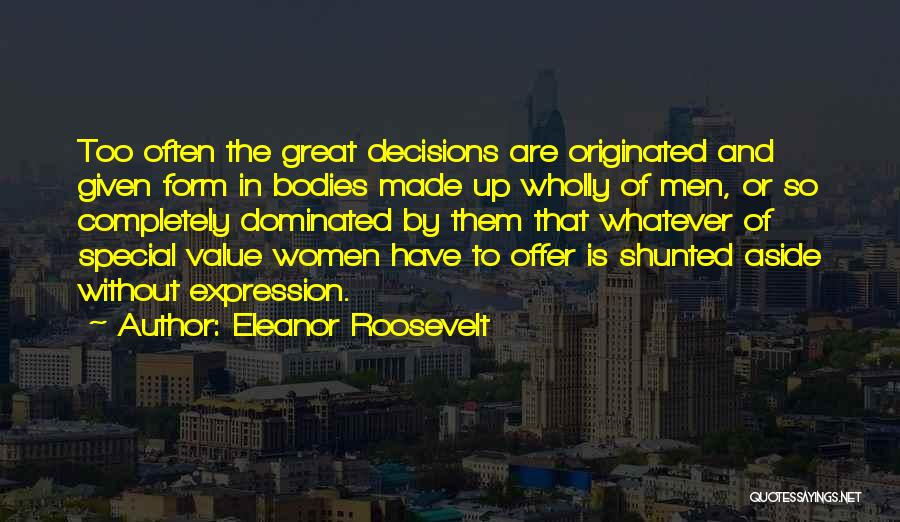Special Offer Quotes By Eleanor Roosevelt