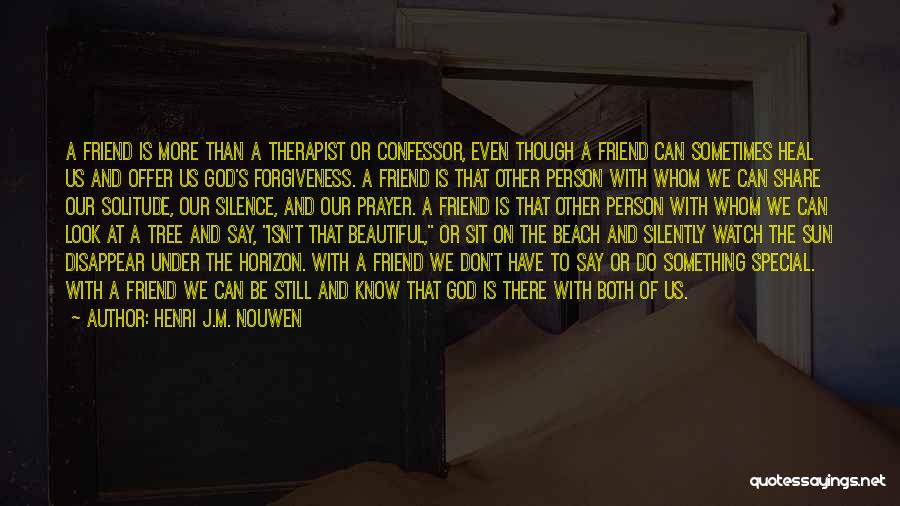 Special Offer Quotes By Henri J.M. Nouwen