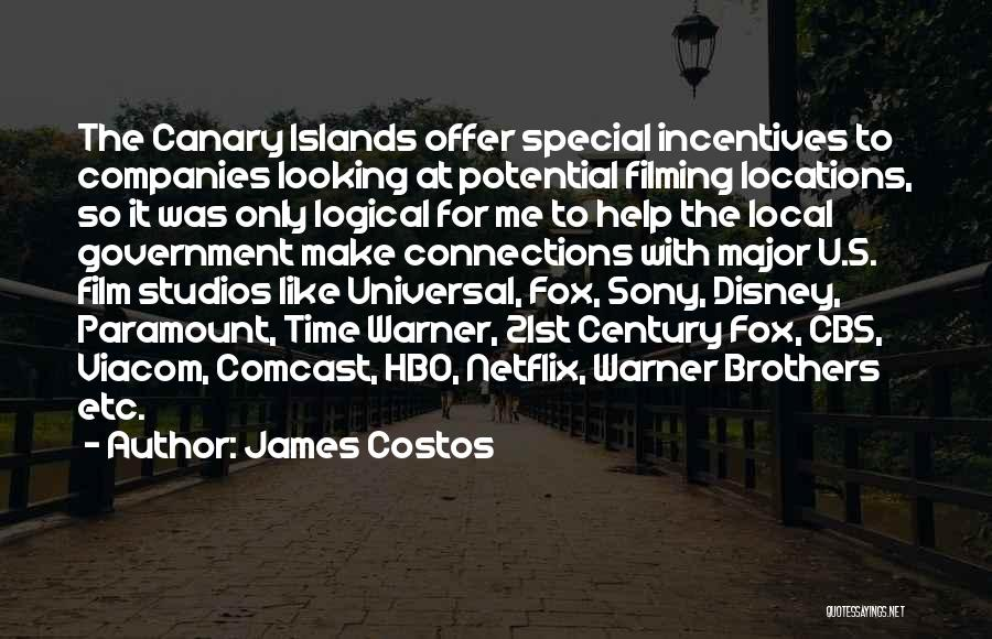 Special Offer Quotes By James Costos
