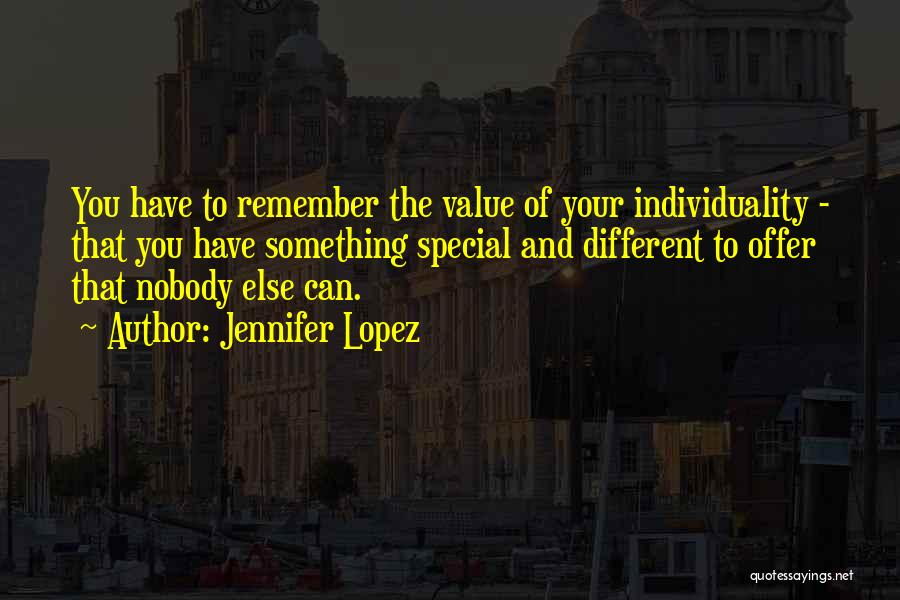 Special Offer Quotes By Jennifer Lopez