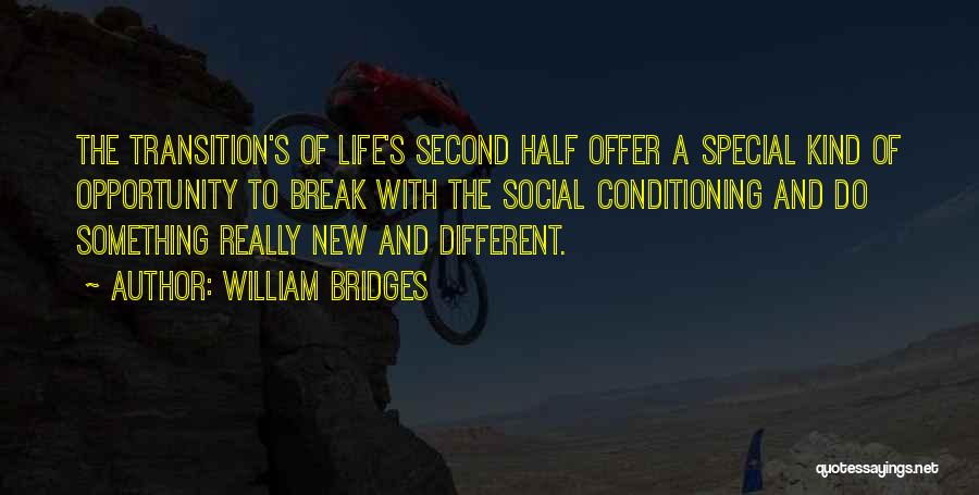 Special Offer Quotes By William Bridges
