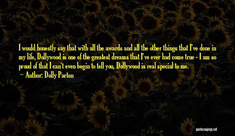 Special One In Life Quotes By Dolly Parton