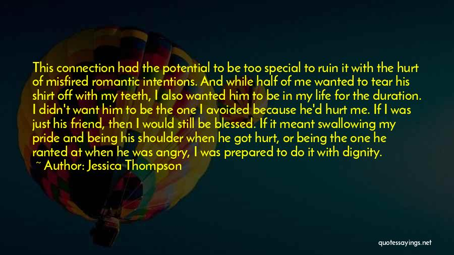 Special One In Life Quotes By Jessica Thompson