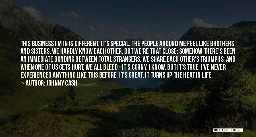 Special One In Life Quotes By Johnny Cash