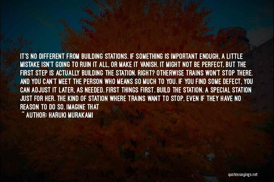 Special Person In Our Life Quotes By Haruki Murakami