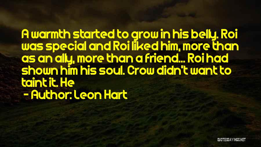 Special To Him Quotes By Leon Hart