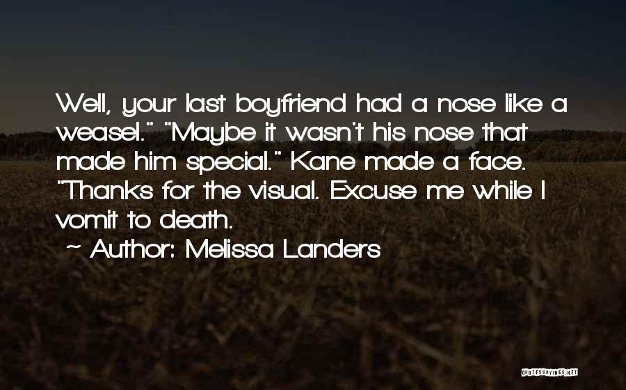 Special To Him Quotes By Melissa Landers