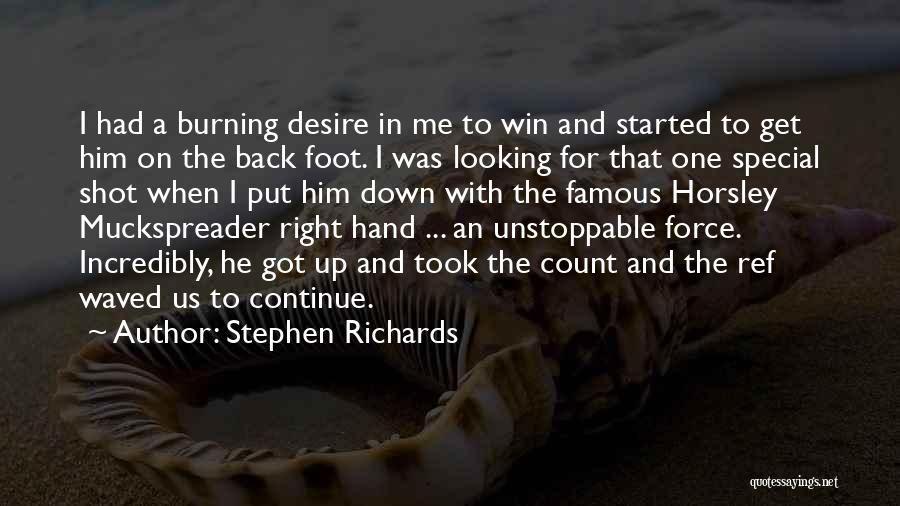 Special To Him Quotes By Stephen Richards
