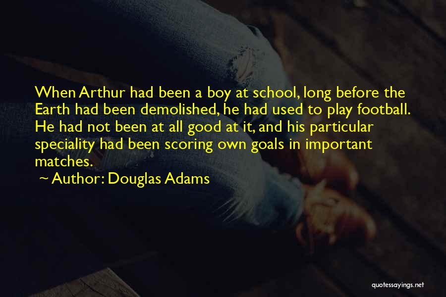 Speciality Quotes By Douglas Adams