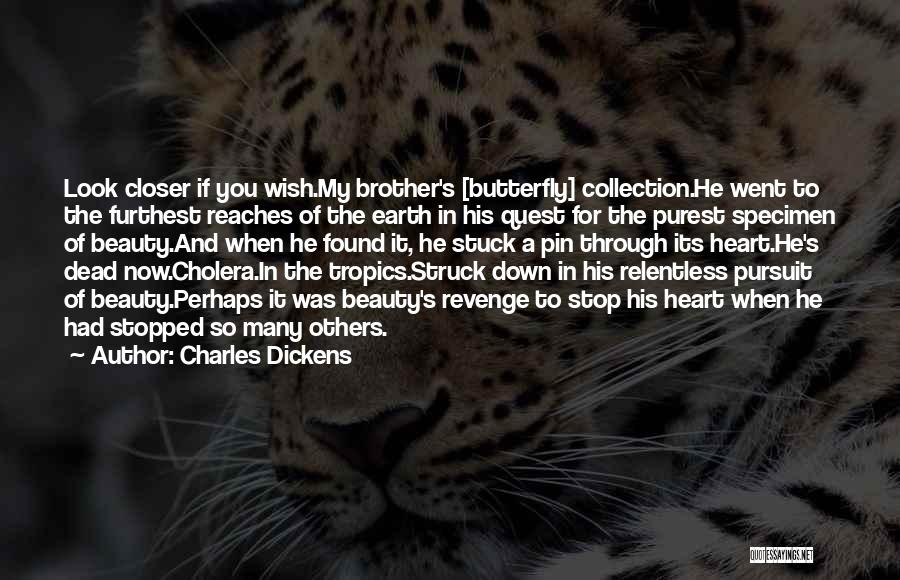 Specimen Collection Quotes By Charles Dickens