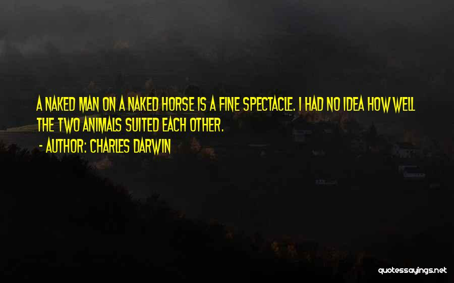 Spectacle Quotes By Charles Darwin