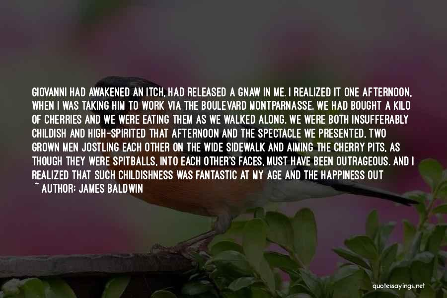 Spectacle Quotes By James Baldwin