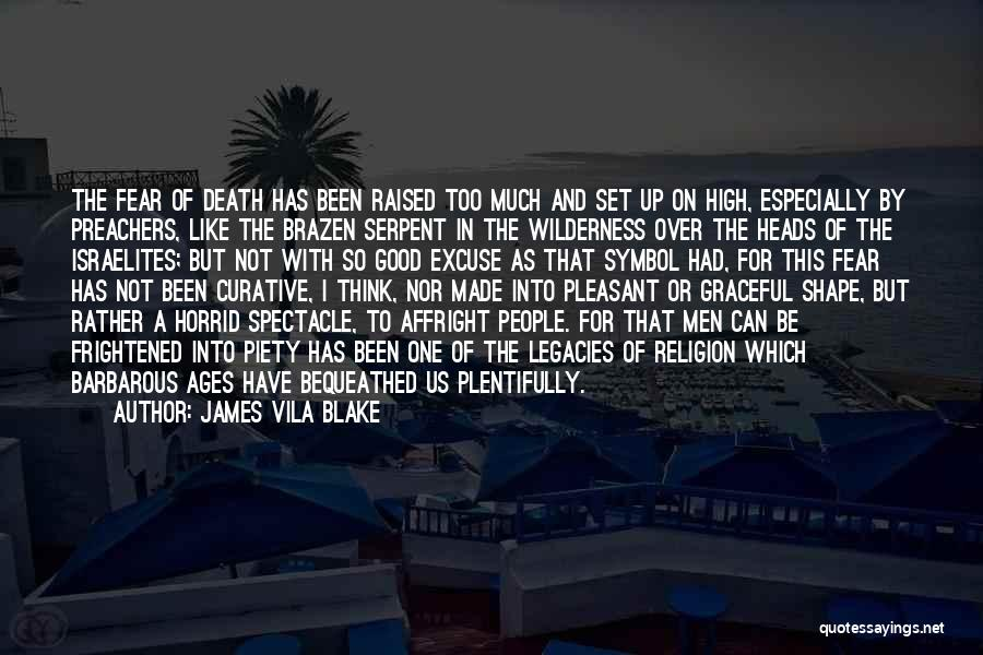 Spectacle Quotes By James Vila Blake